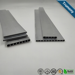 Aluminum Extrusion Micro Channel Tube For Soft Battery Heat Transfer
