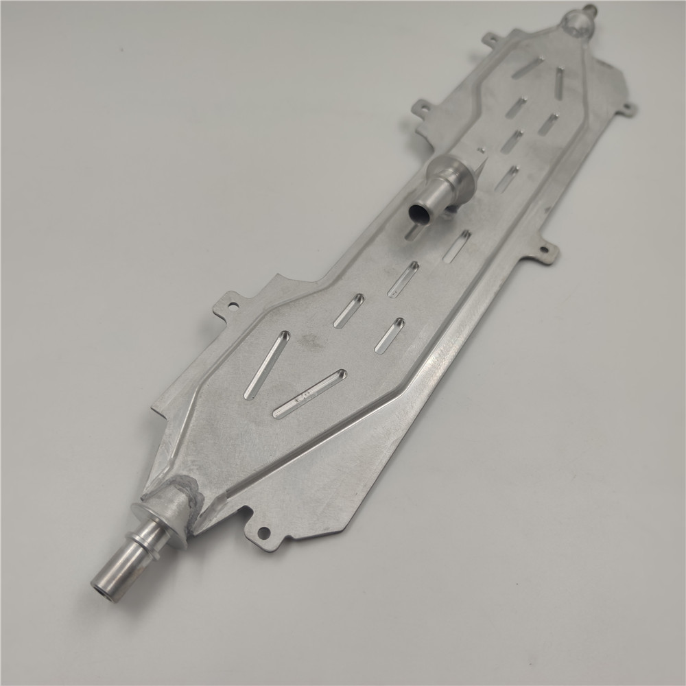 Vacuum Brazing Steam Liquid Water Cooling Heat Recovery Aluminum Plate