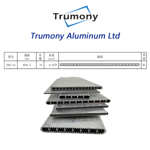 extrusion air to water system Aluminum Alloy multiport MPE tube