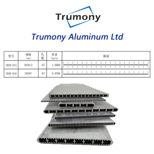 6061 heat transfer Aluminium micro channel channel tube